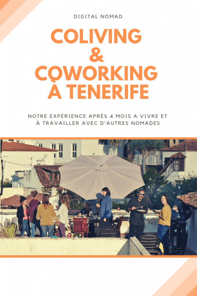 digital nomad, le coliving