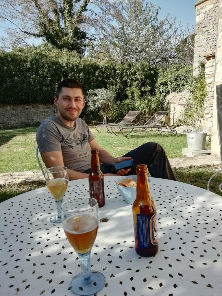 dégustation de bière artisanale