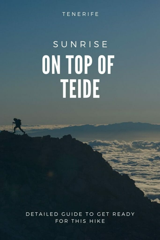hiking teide