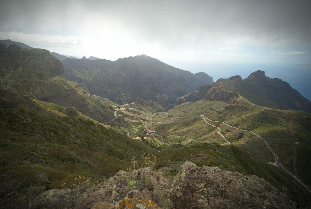 la vue sur le village de Masca
