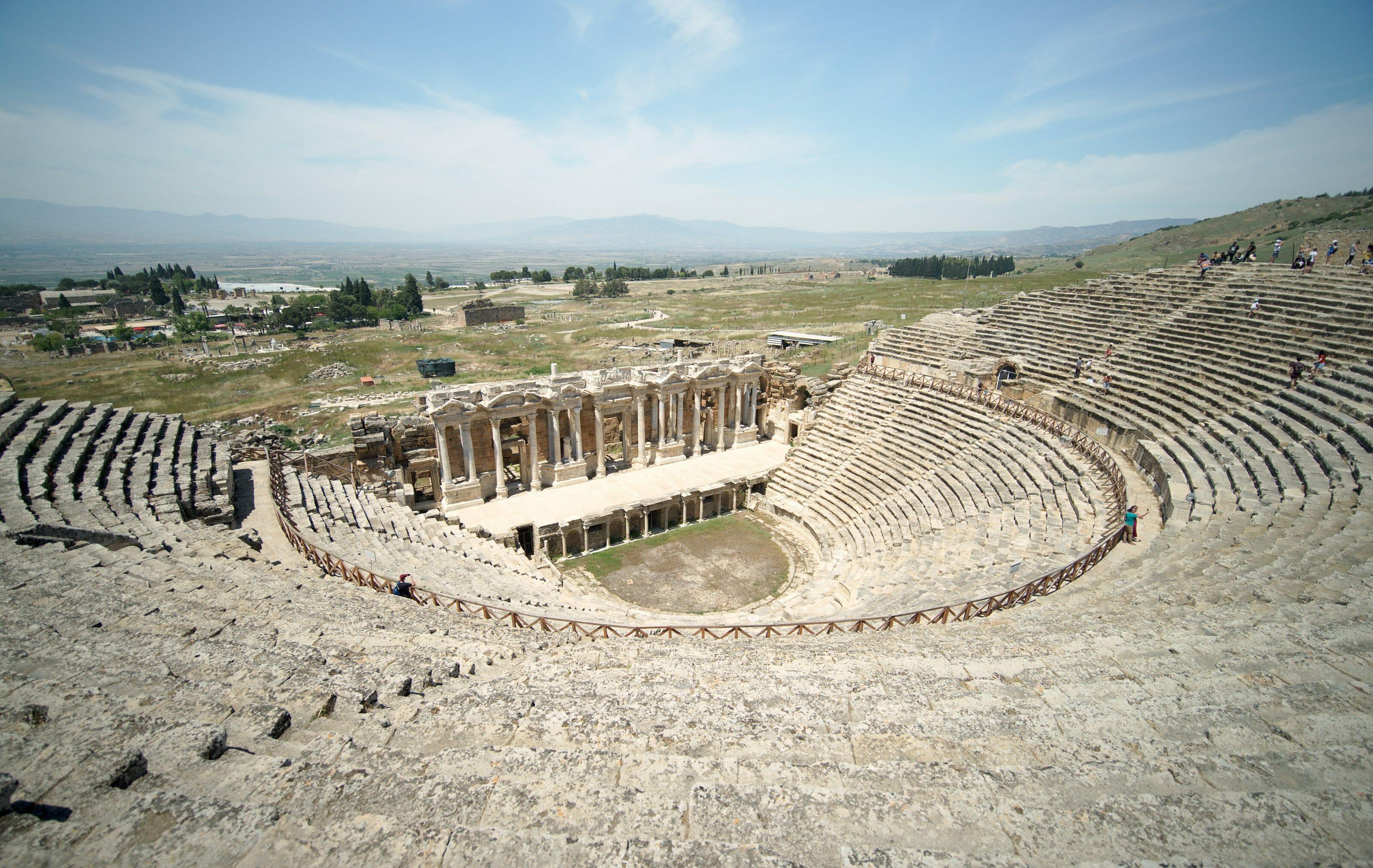 Amphithéâtre de Hierapolis, Turquie