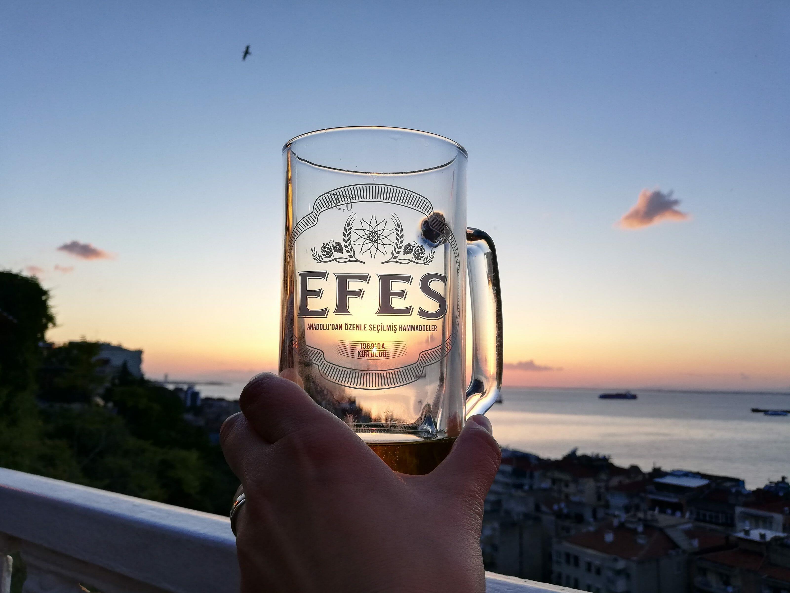 bière efes turquie