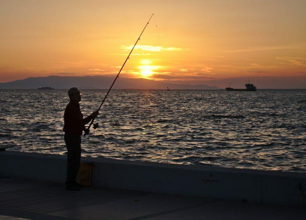 coucher de soleil, izmir