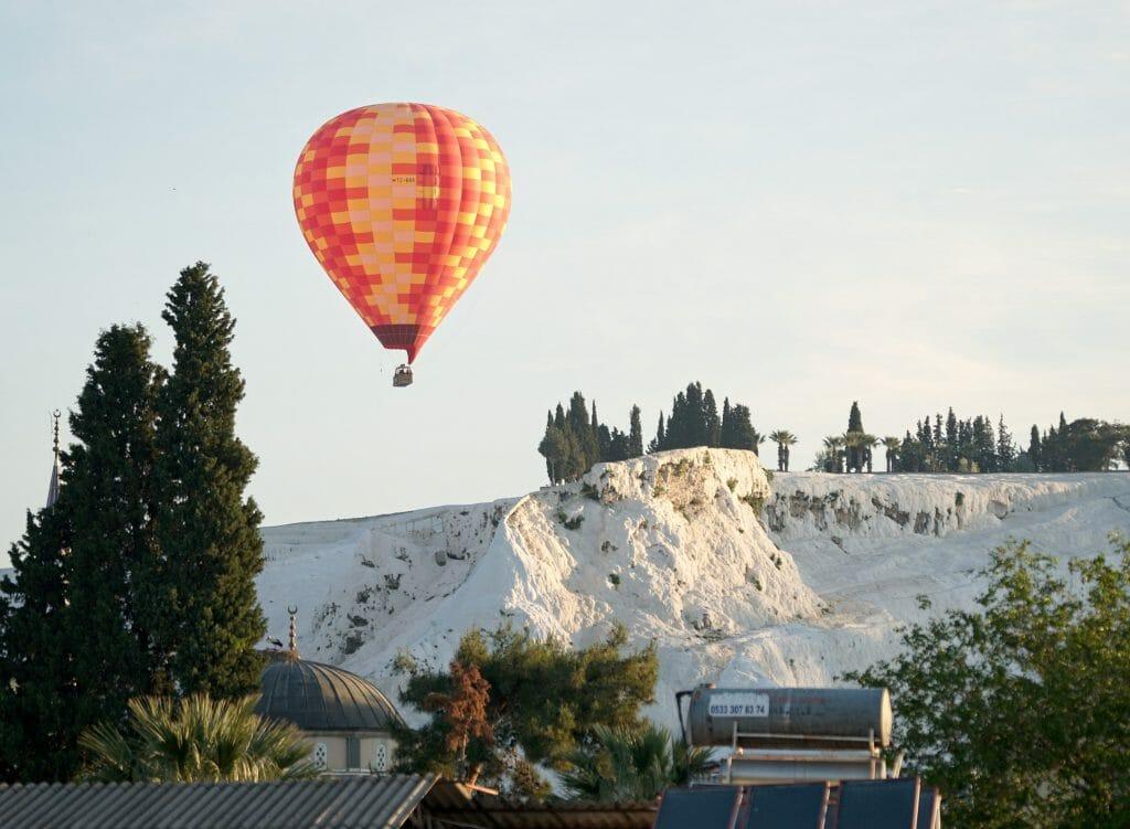 montgolfière pamukkale