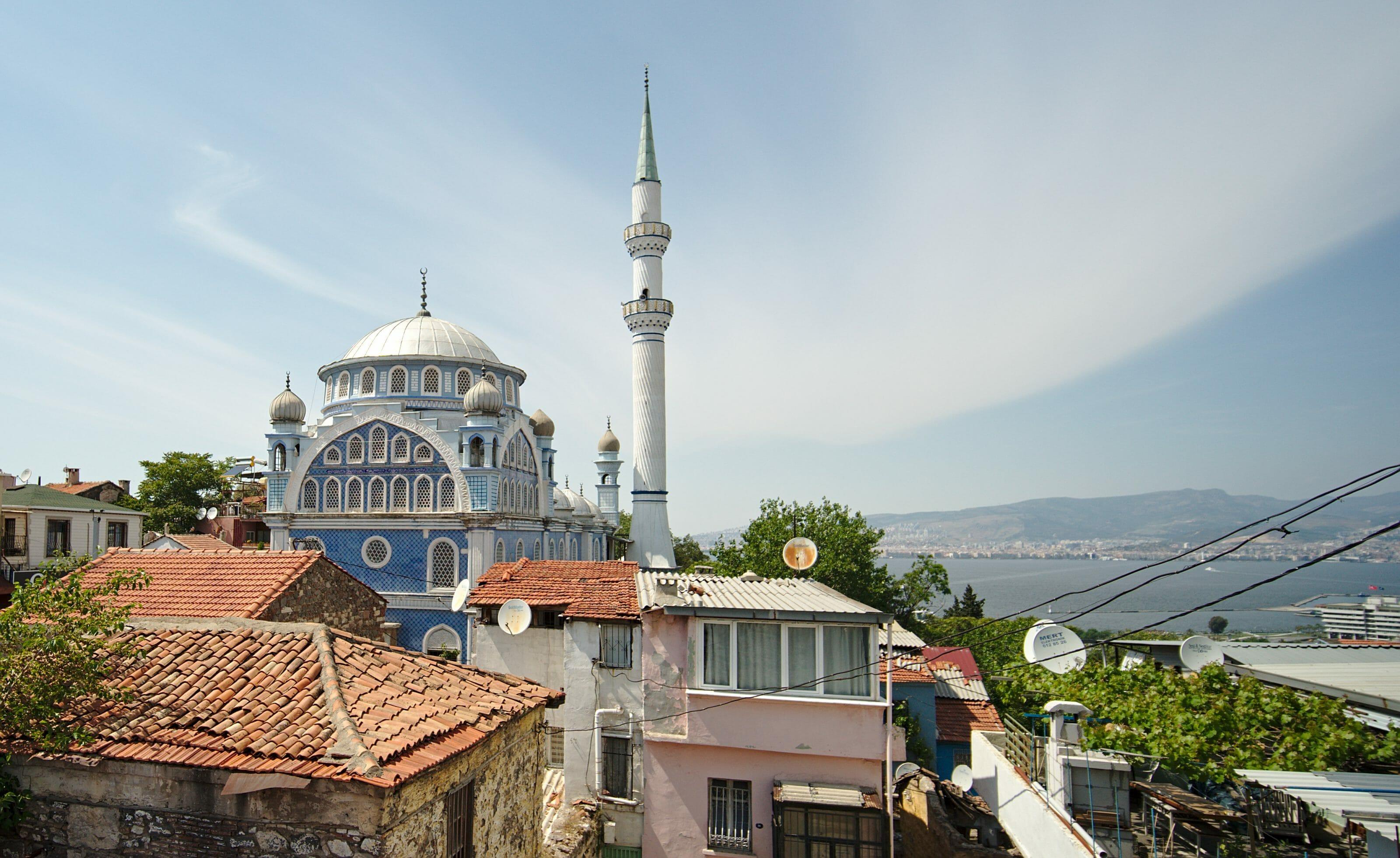 mosquée bleue - izmir
