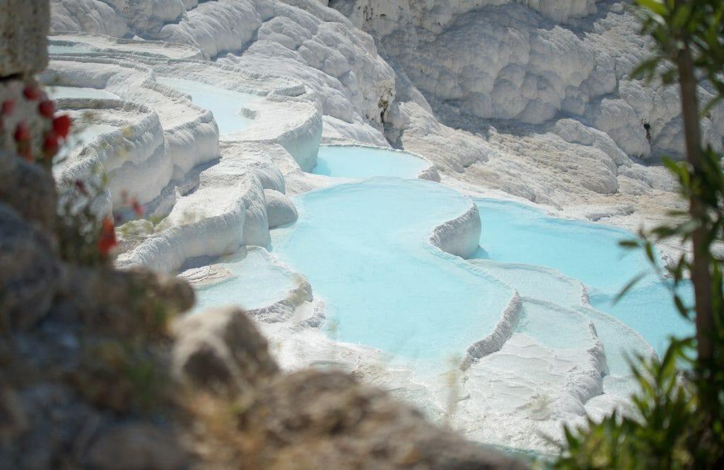 eau cristalline pamukkale
