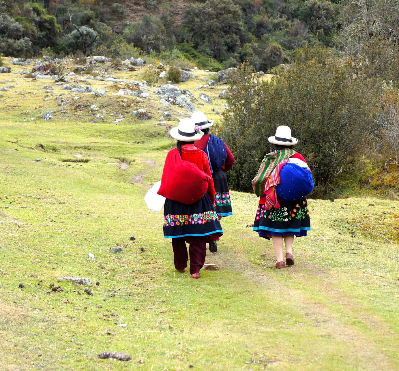 femmes péruviennes