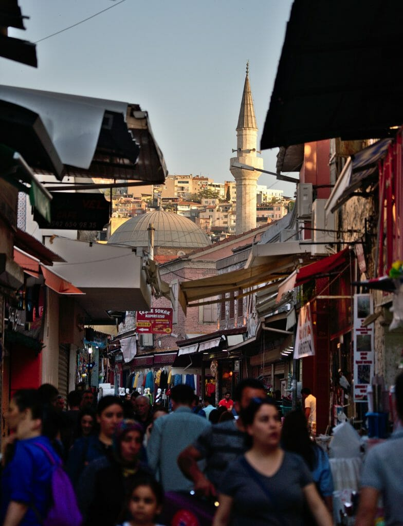 mosquée au centre d'izmir