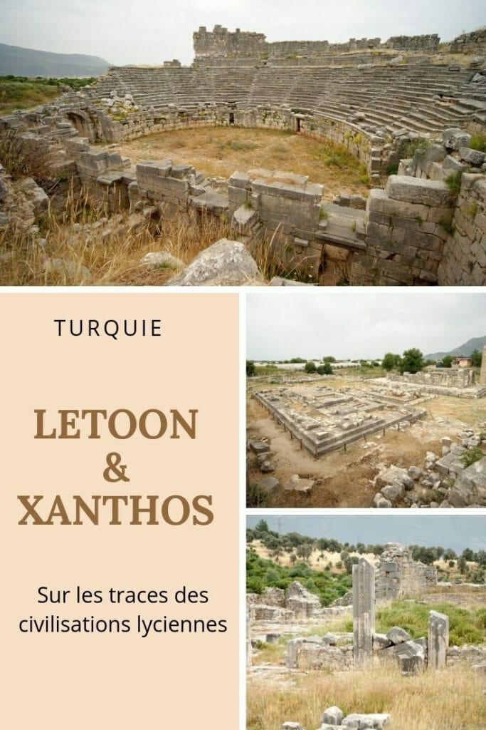 ruines de xanthos