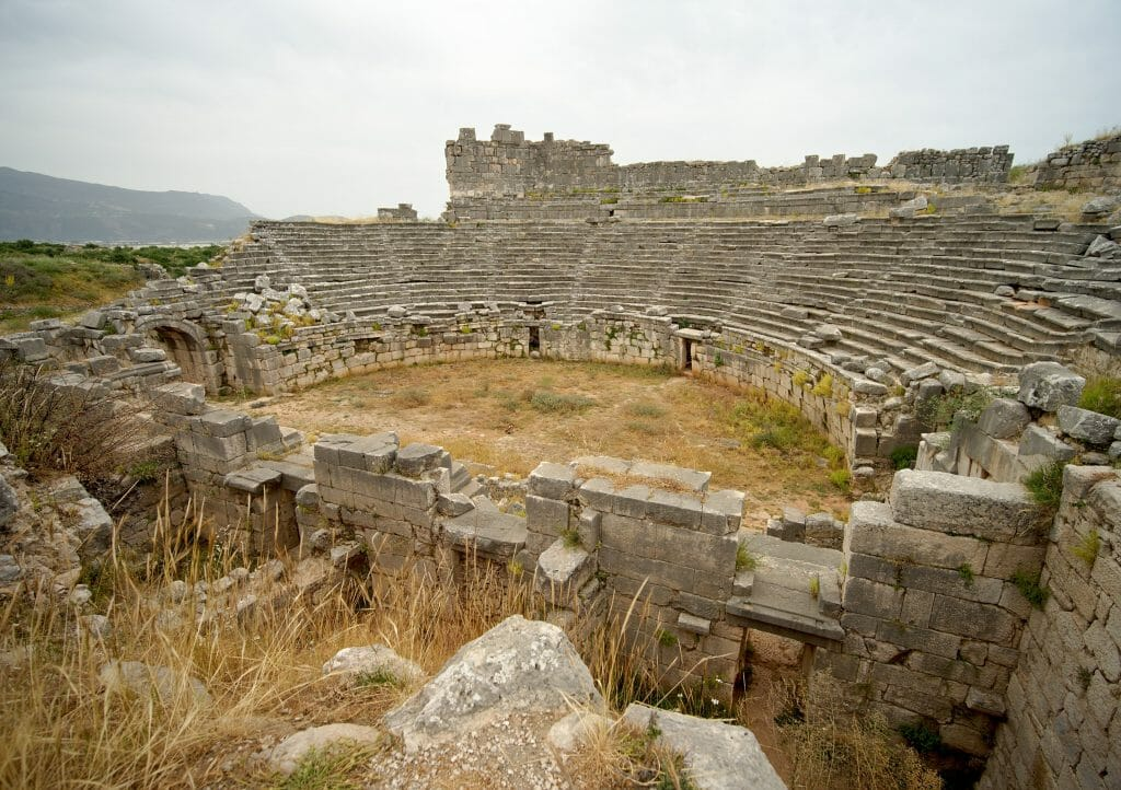 l'amphithéatre de xanthos