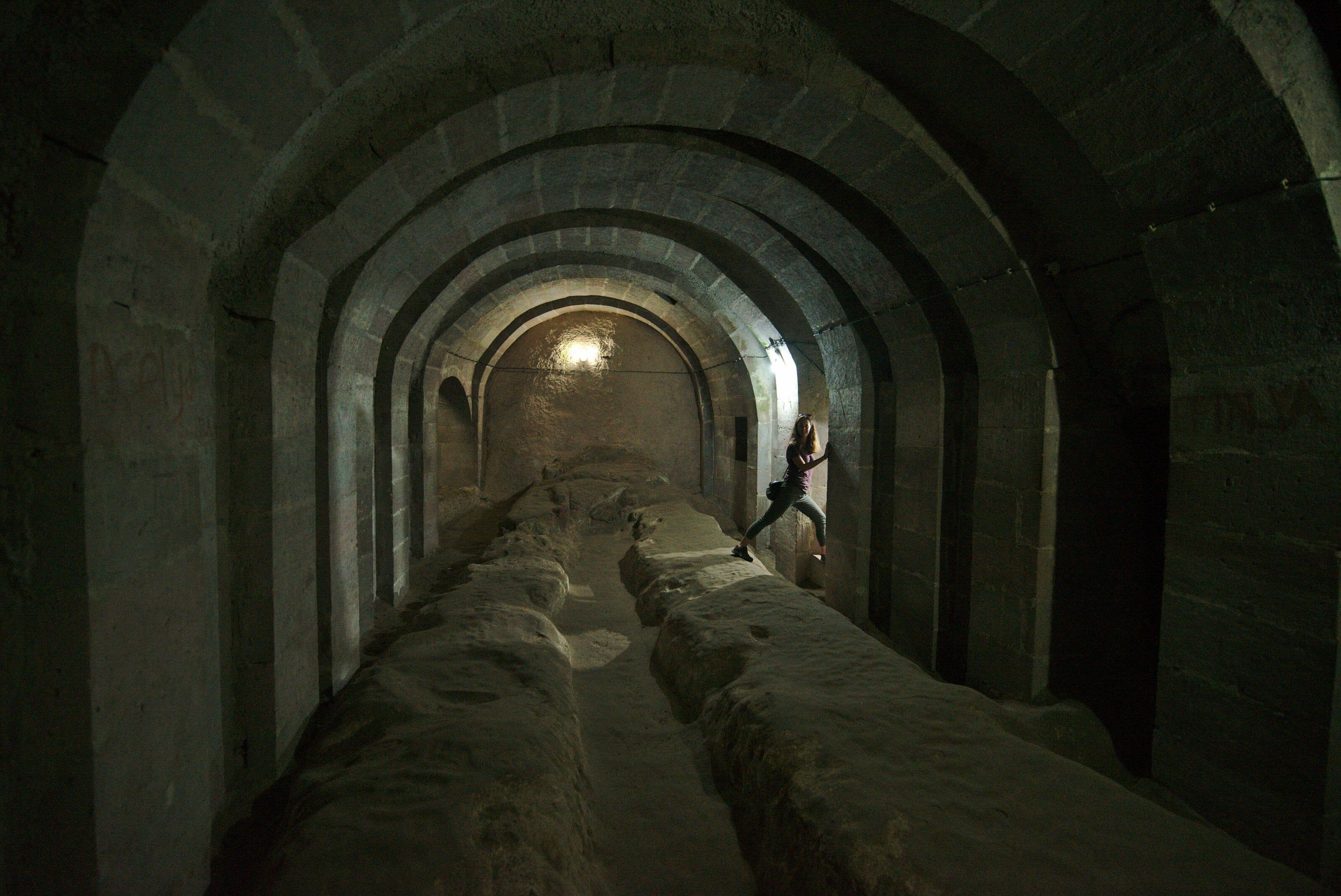 cité souterraine de derinkuyu