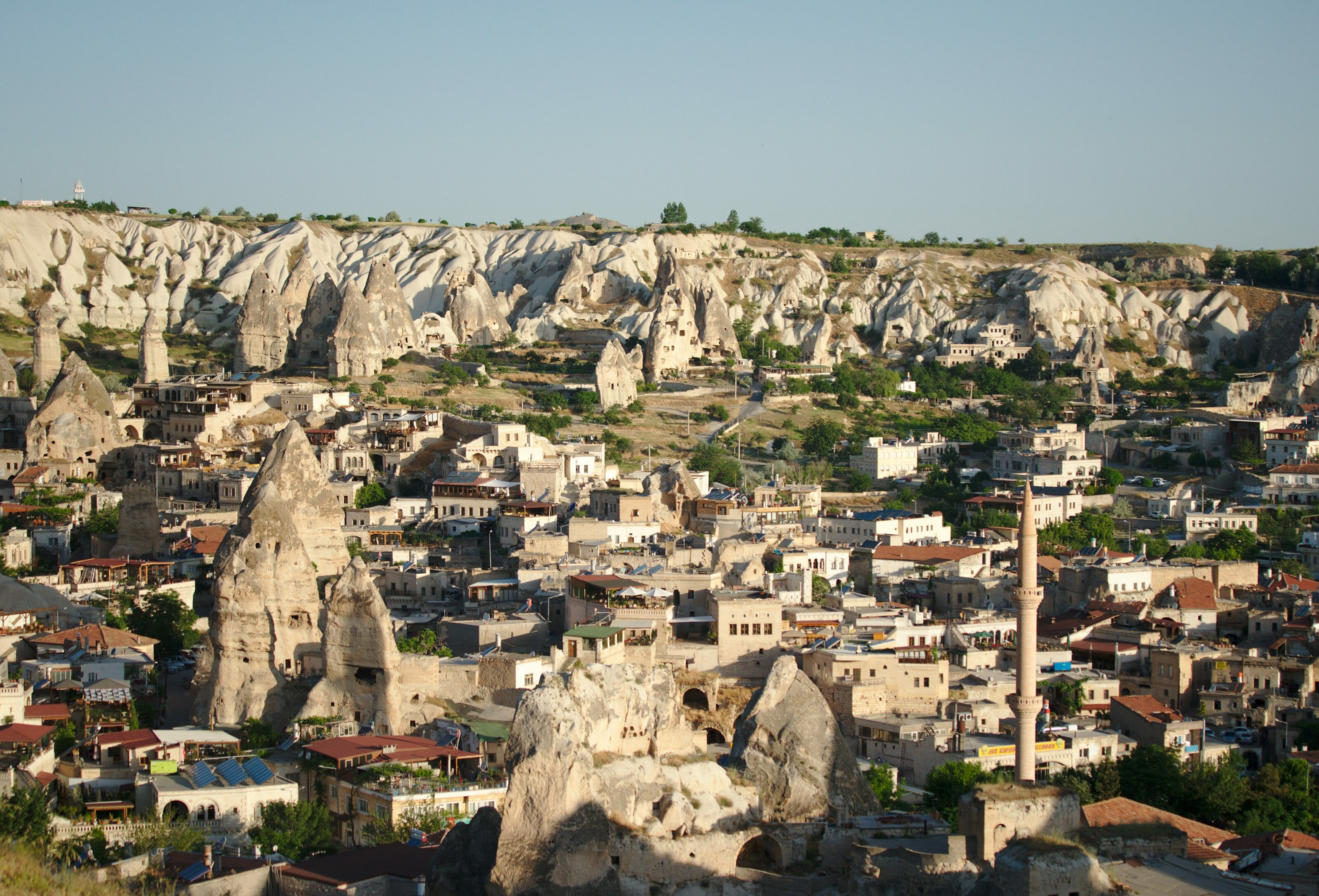 village de Göreme Cappadoce