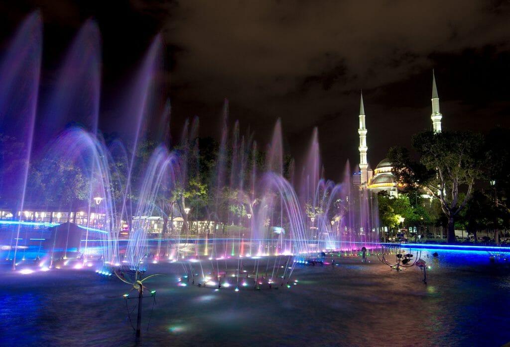 kultur park de nuit, konya