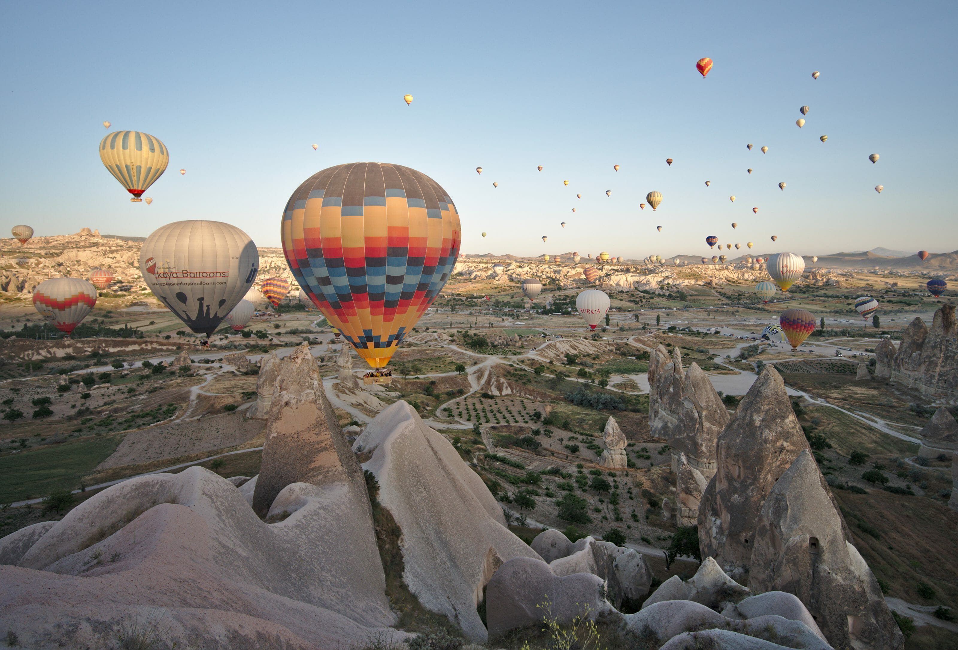 lever de soleil cappadoce