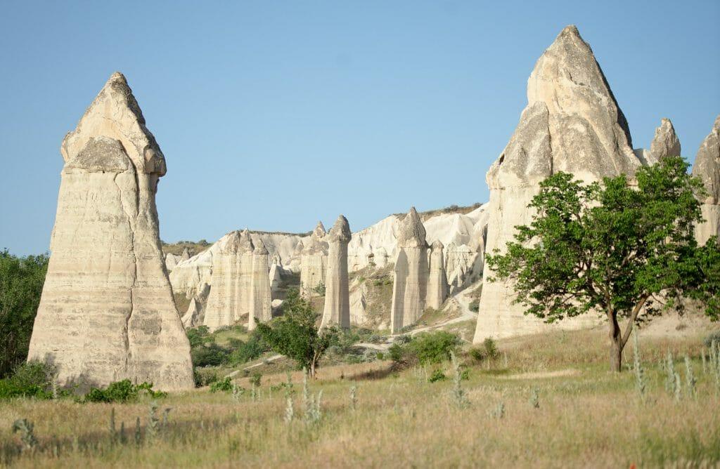 rochers vallée de l'amour