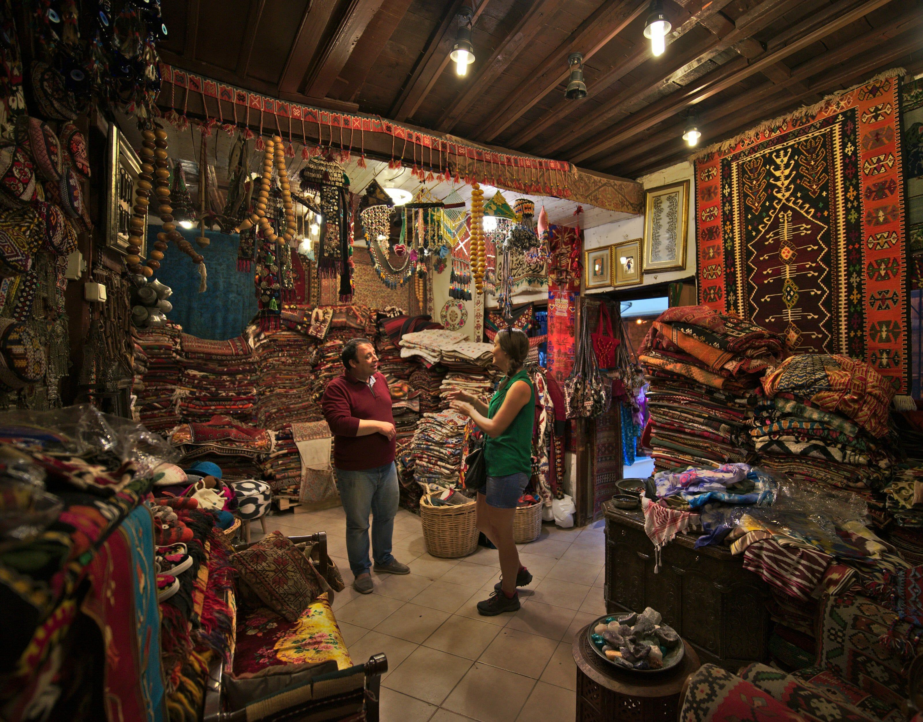 marchand de tapis fethiye