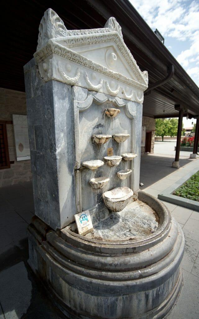 fontaine de mevlana