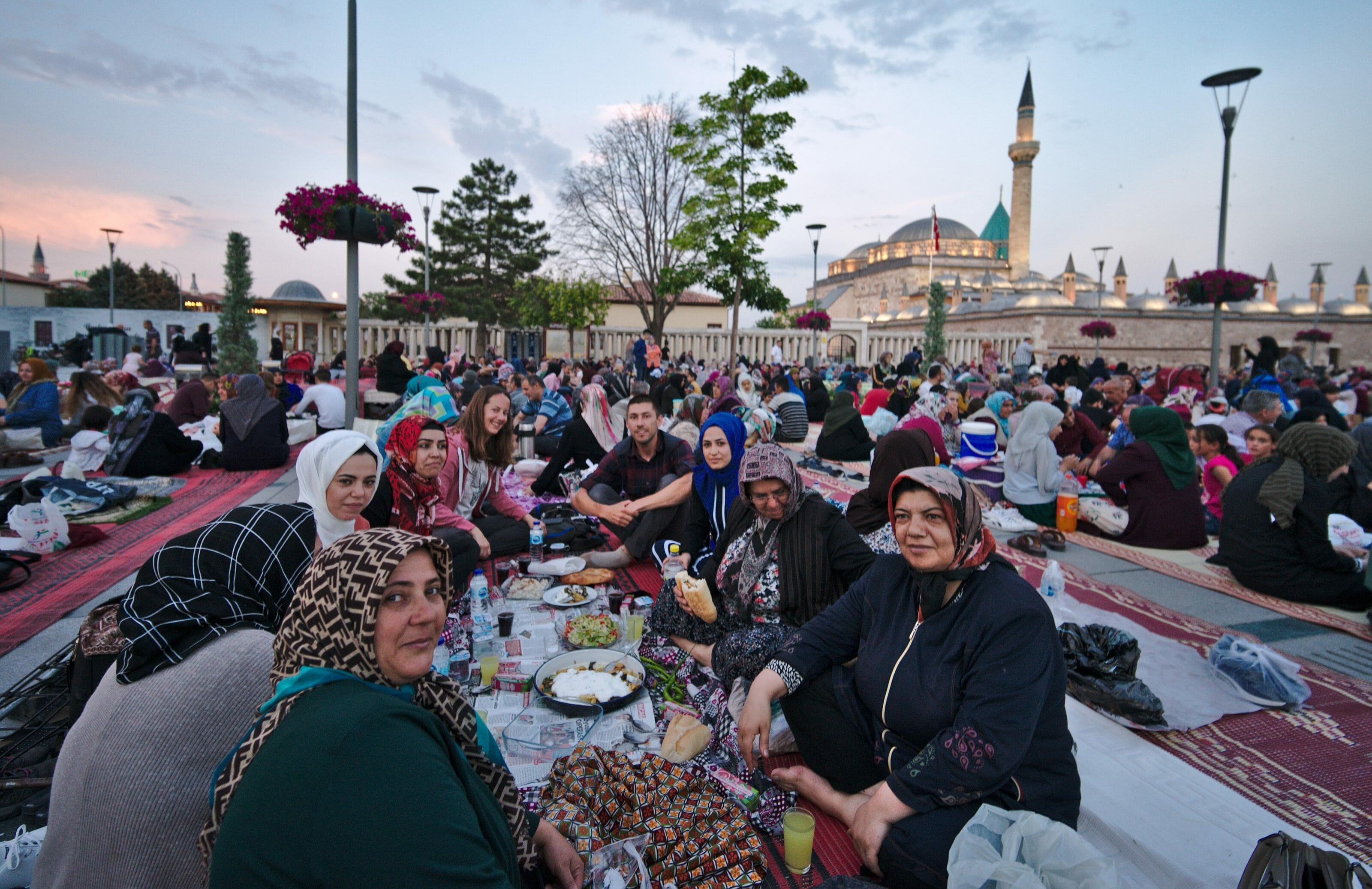 repas del'iftar, konya