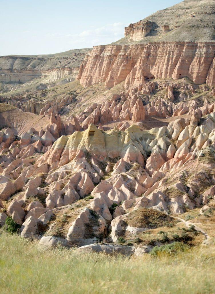 couleur vallée rose cappadoce
