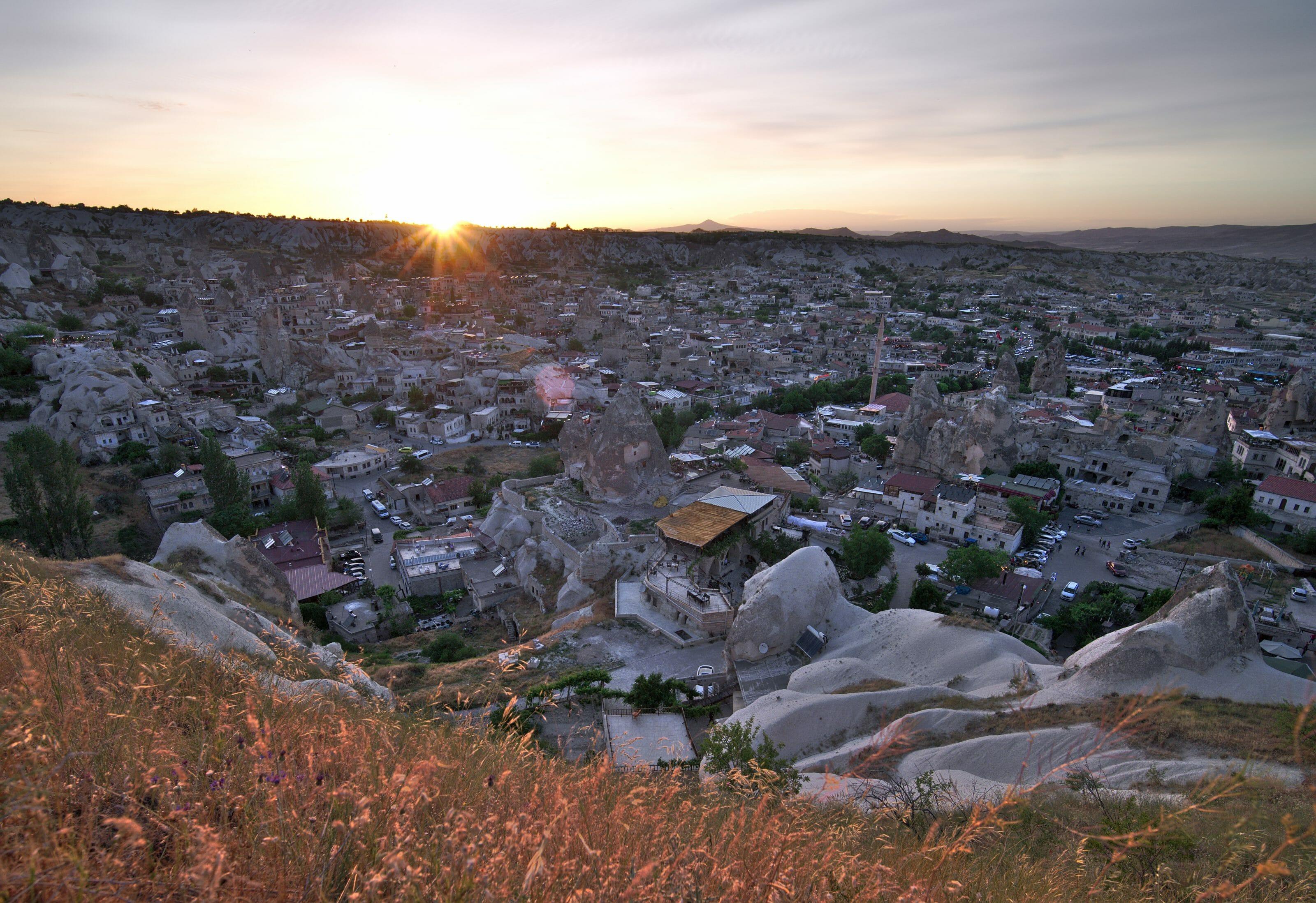 coucher de soleil Göreme