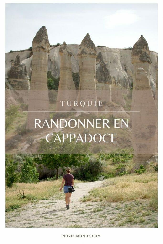 la cappadoce à pied