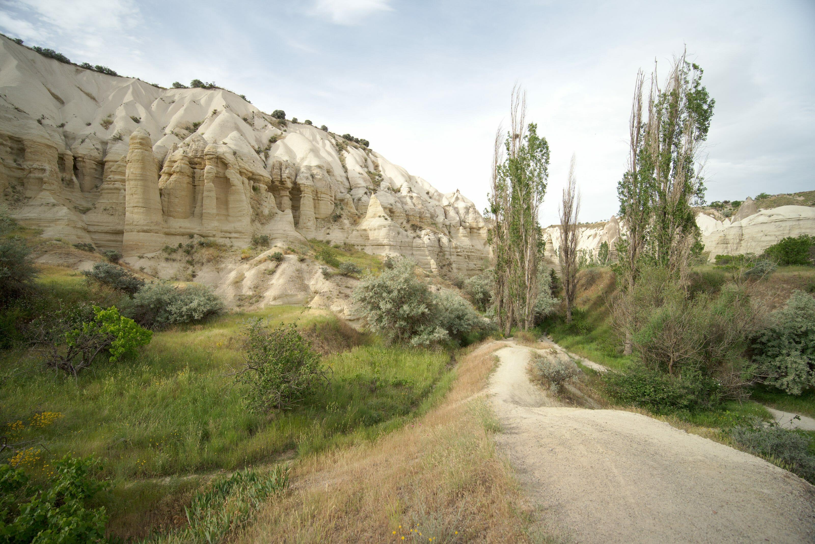 vallée blanche cappadoce
