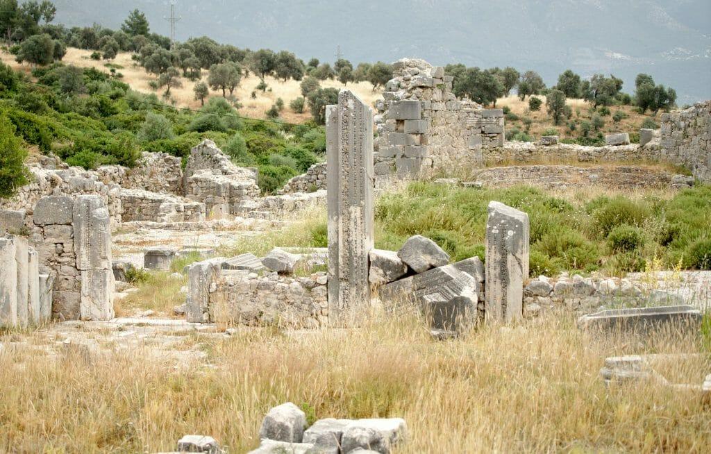 le site de Xanthos