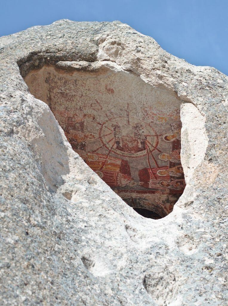 eglise troglodyte zemi cappadoce