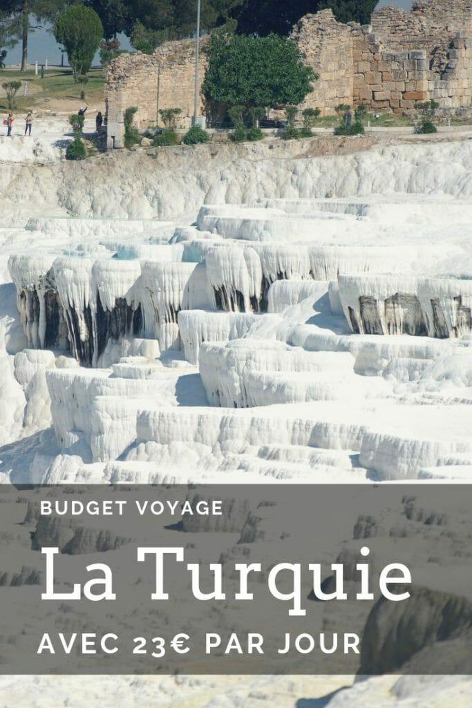 turquie, itinéraire et budget