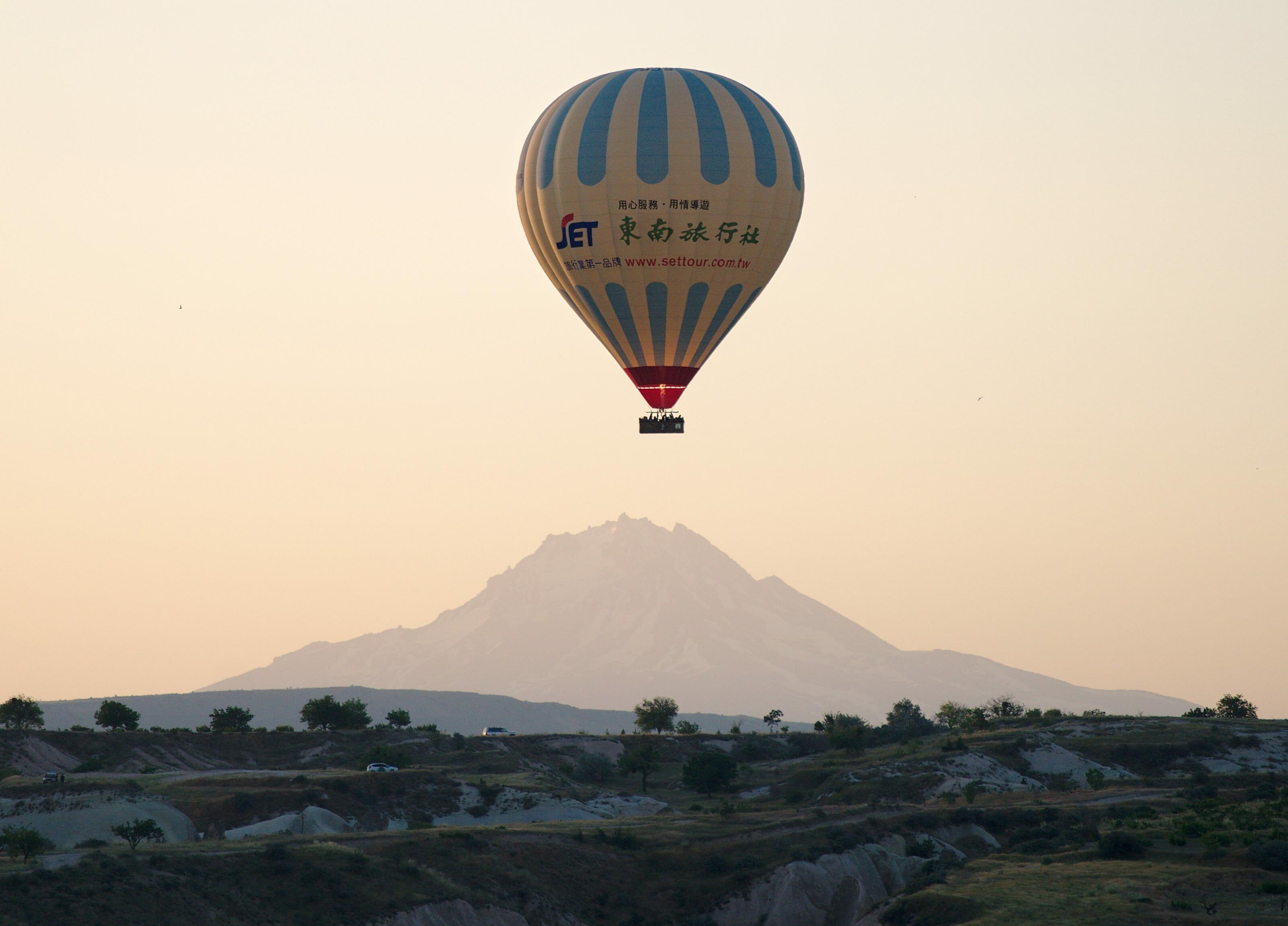 ballon cappadoce en Turquie