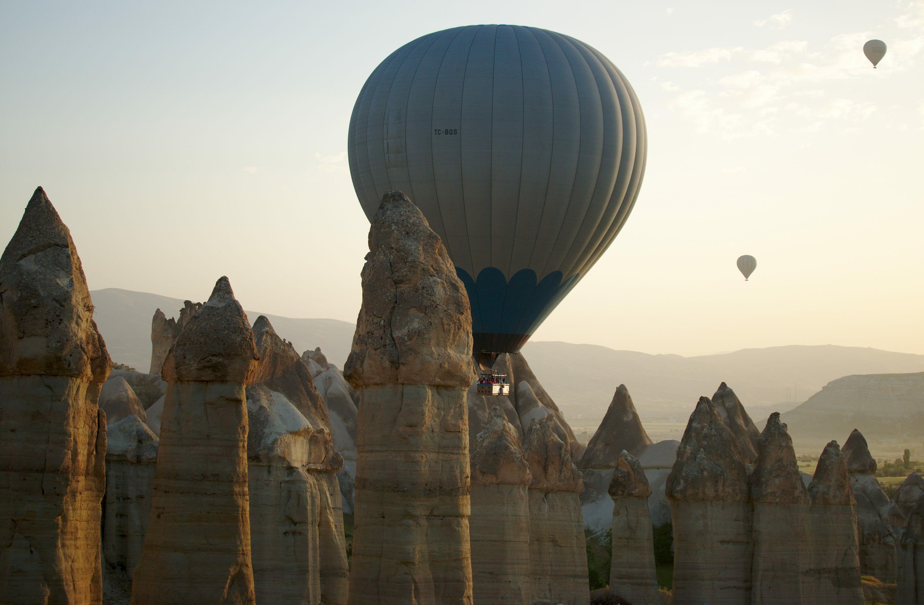 montgolfiere basse altitude