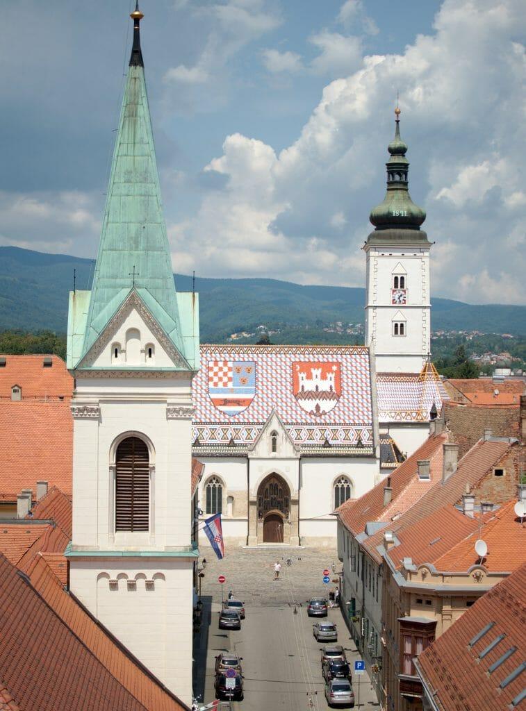 eglise st Mark Zagreb