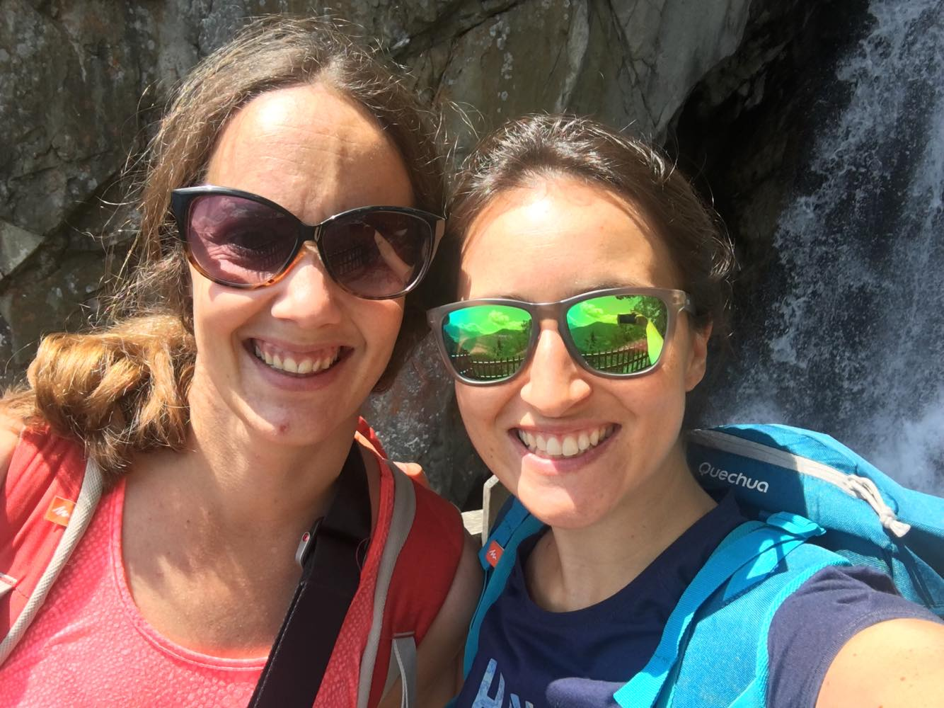 selfie en randonnée