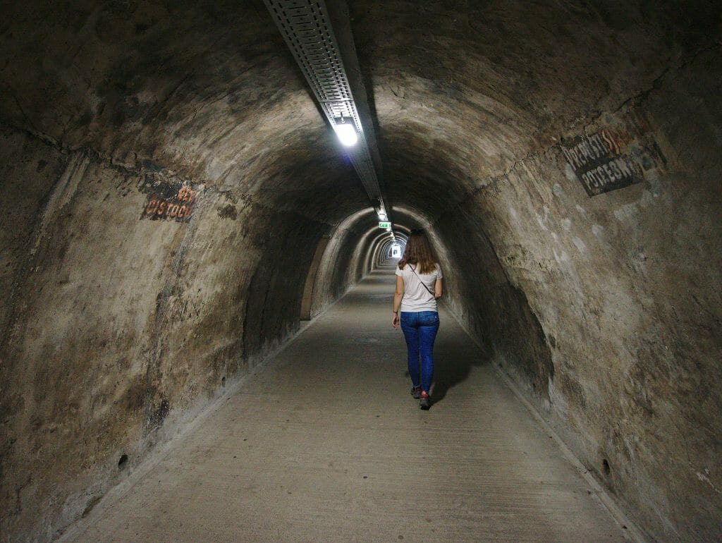 tunnel gric zagreb