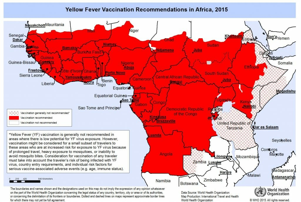yellow fever africa