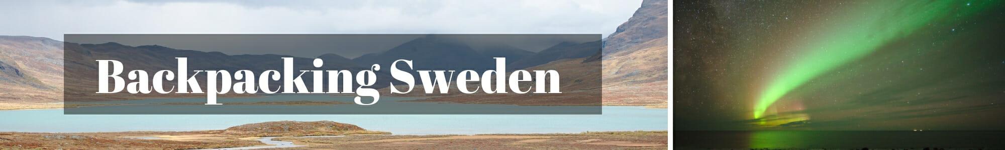 backpacking sweden