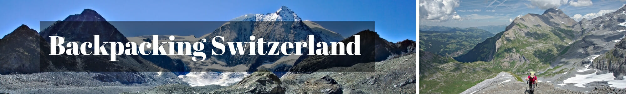 backpacking switzerland