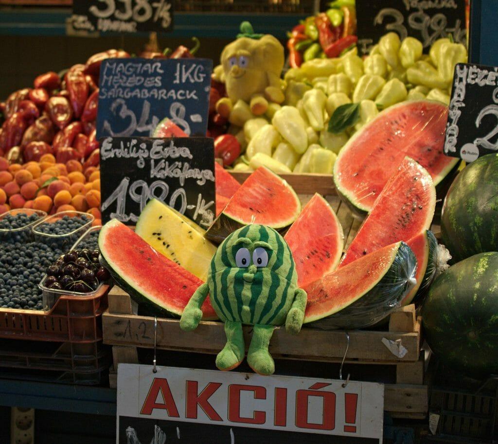 stand de fruits budapest