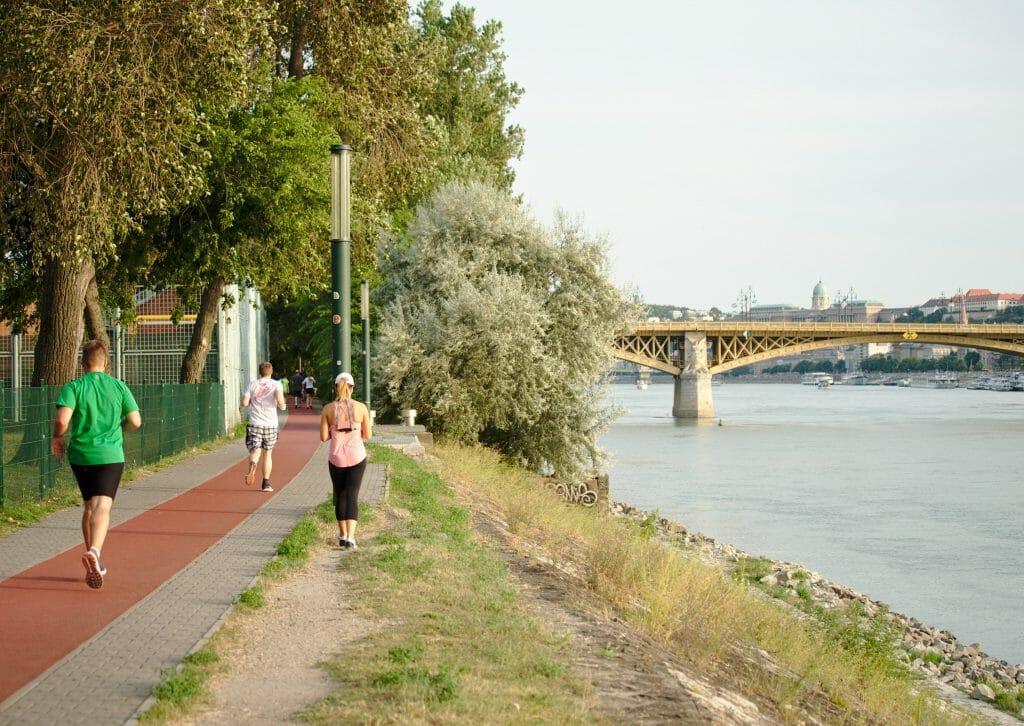 jogging ile marguerite