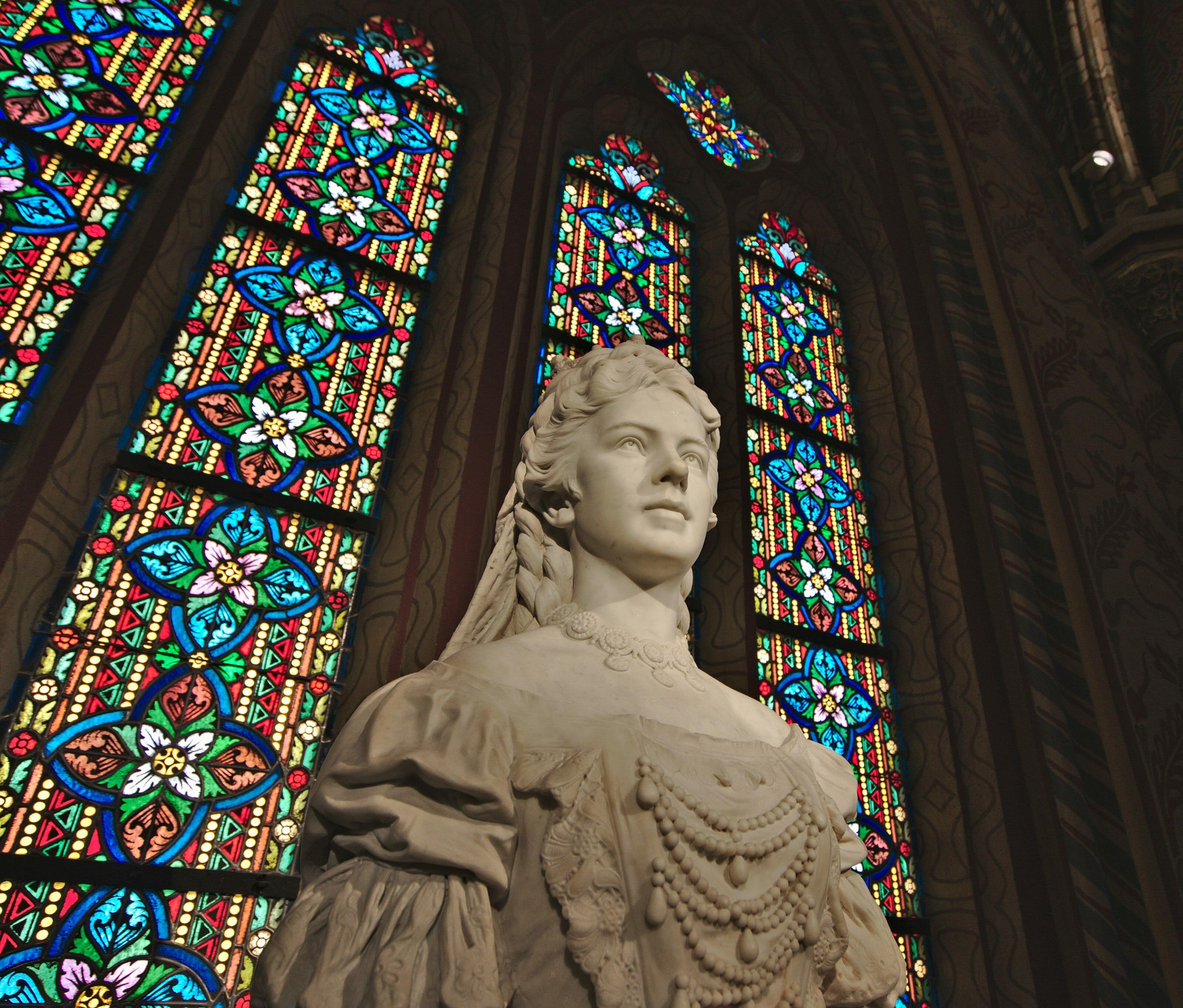 vitrail église matthias