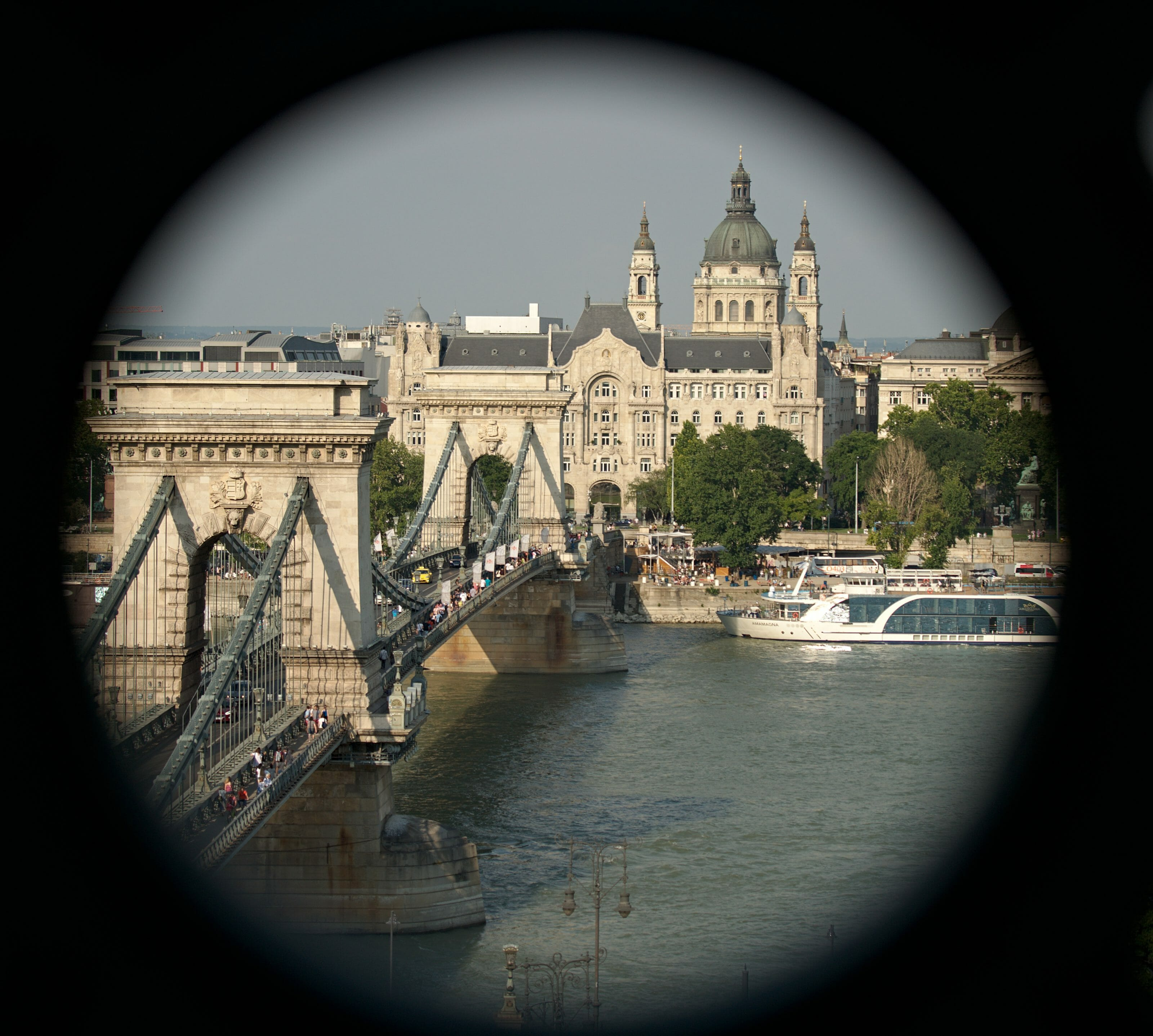 Pont des chaines, Budapest