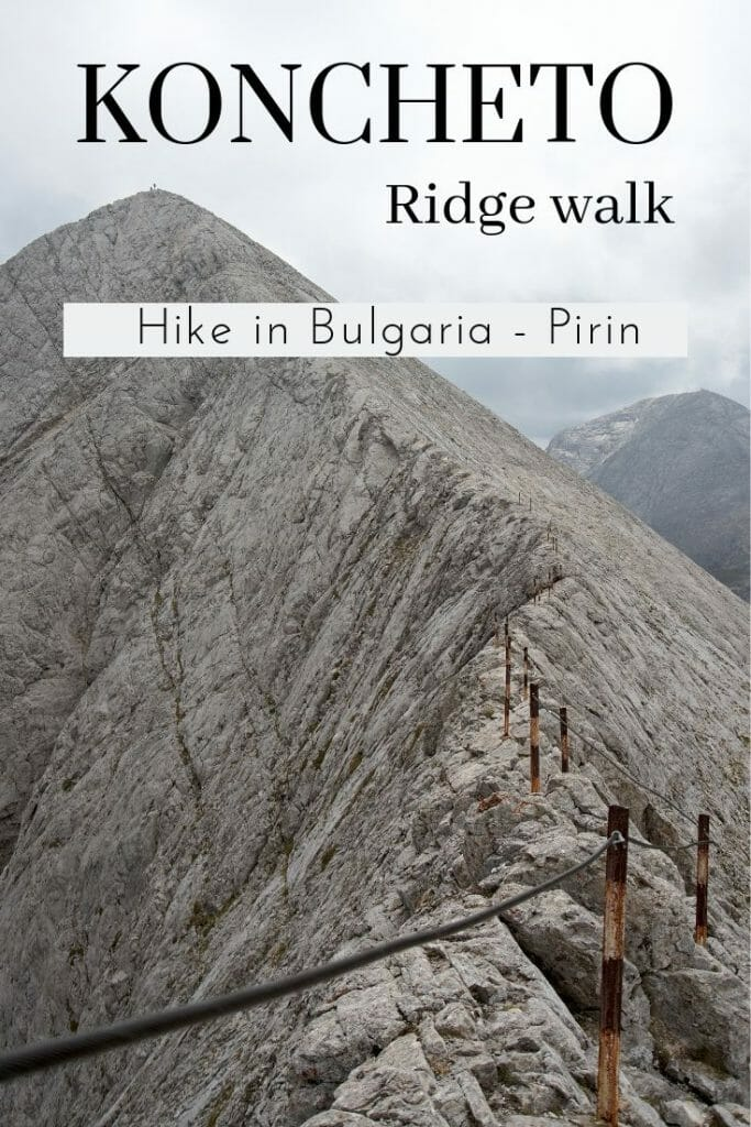 hike koncheto ridge pirin national park