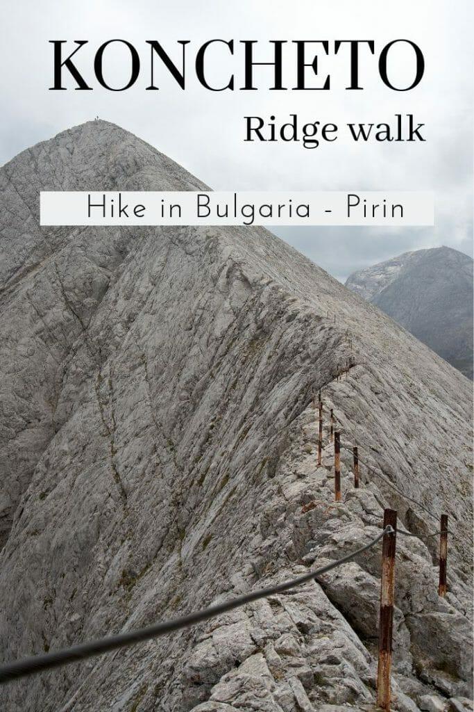 hike koncheto ridge pirin national park