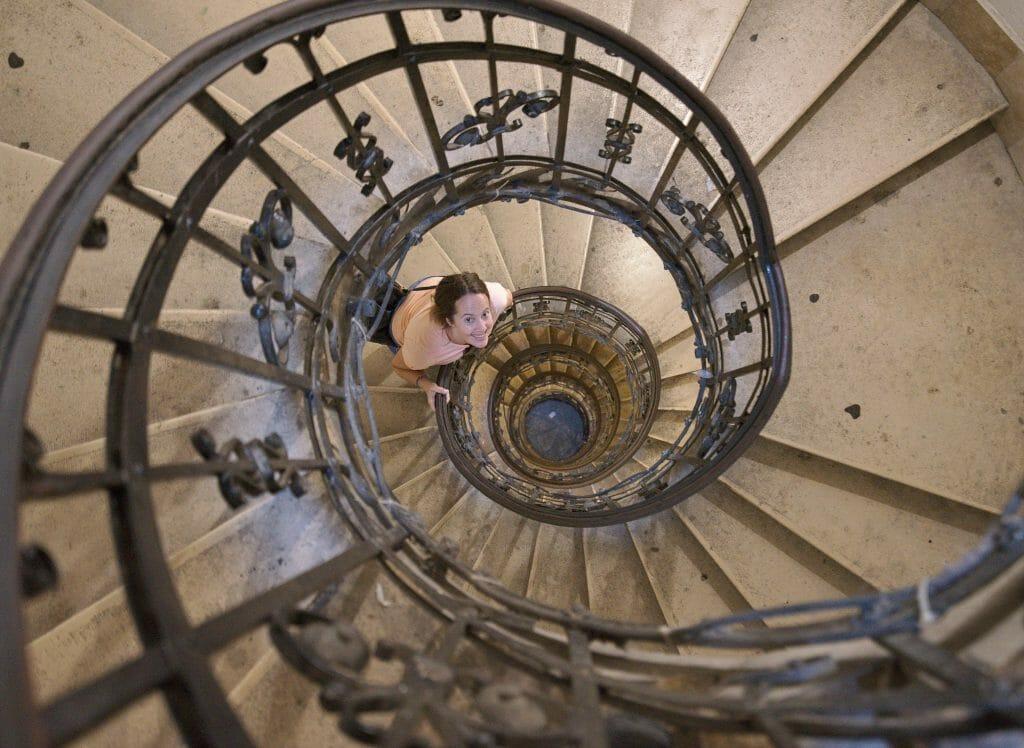 escalier basilique saint etienne
