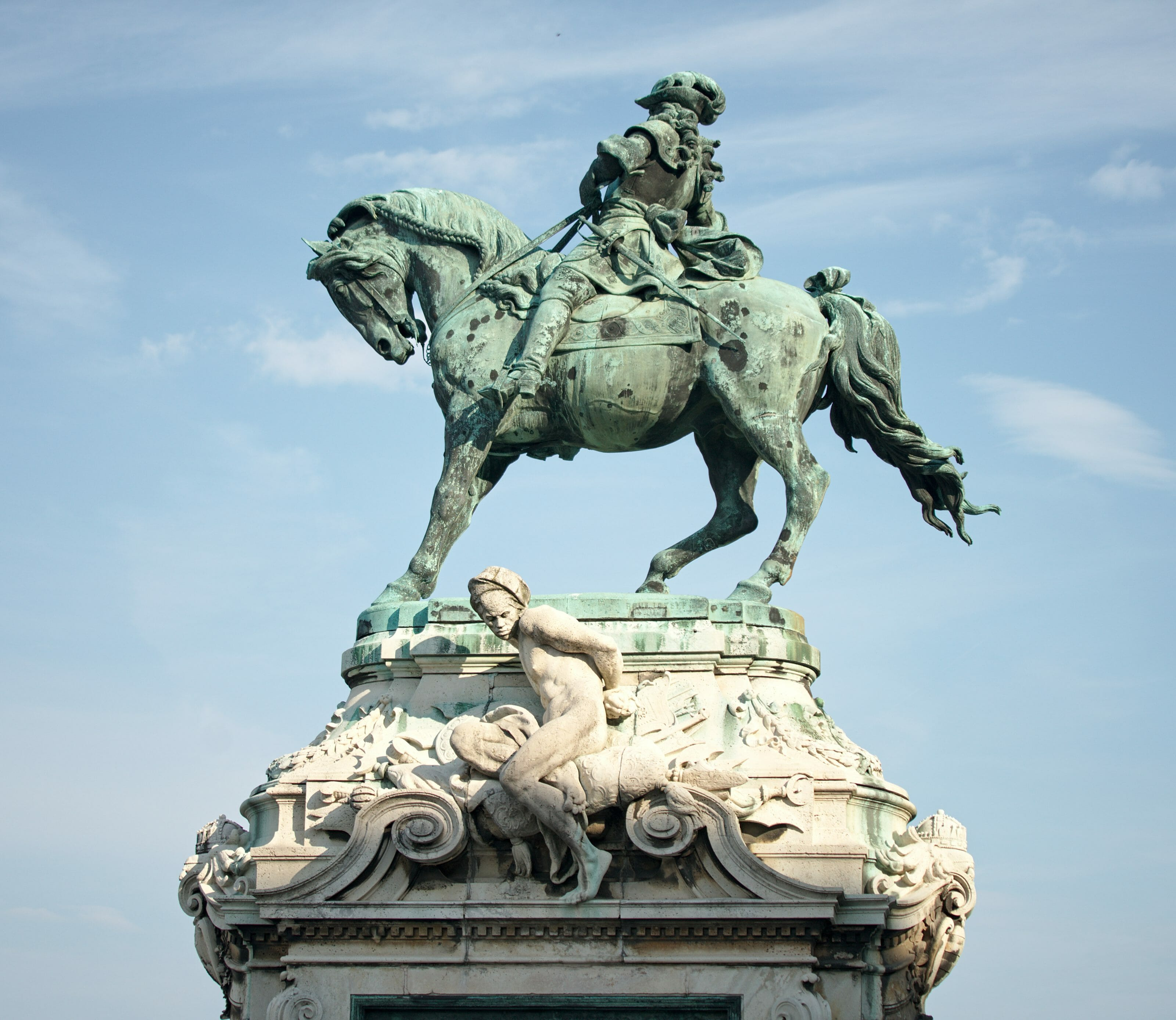 statue à budapest