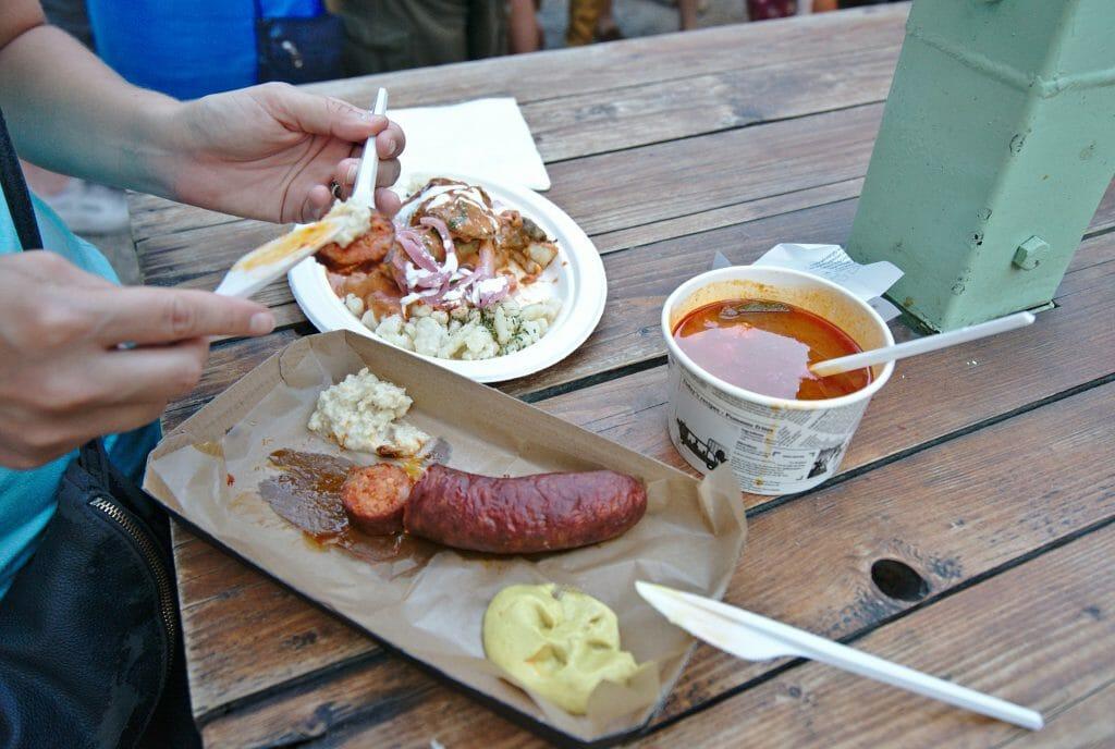 street food hongroise
