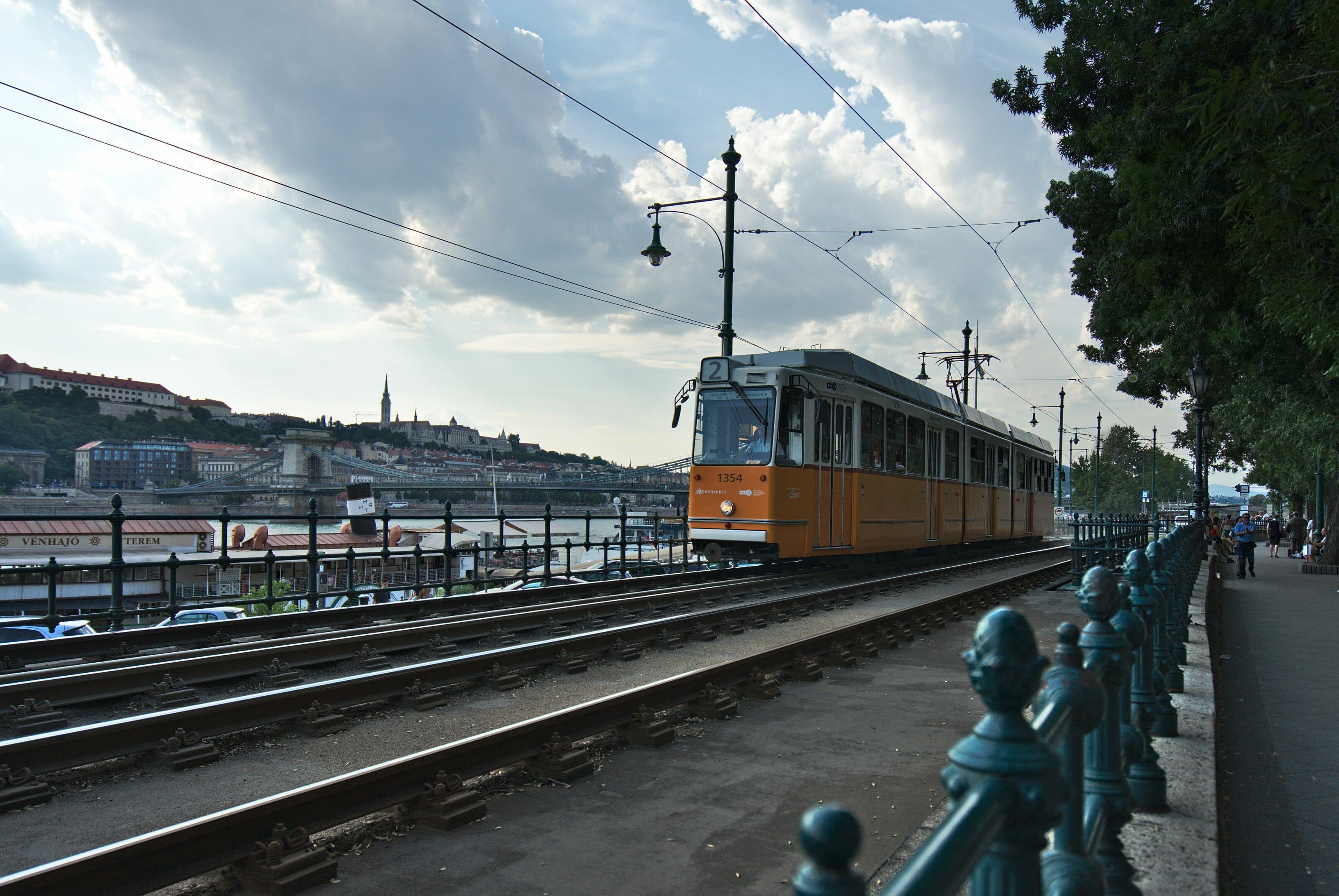 tram à budapest
