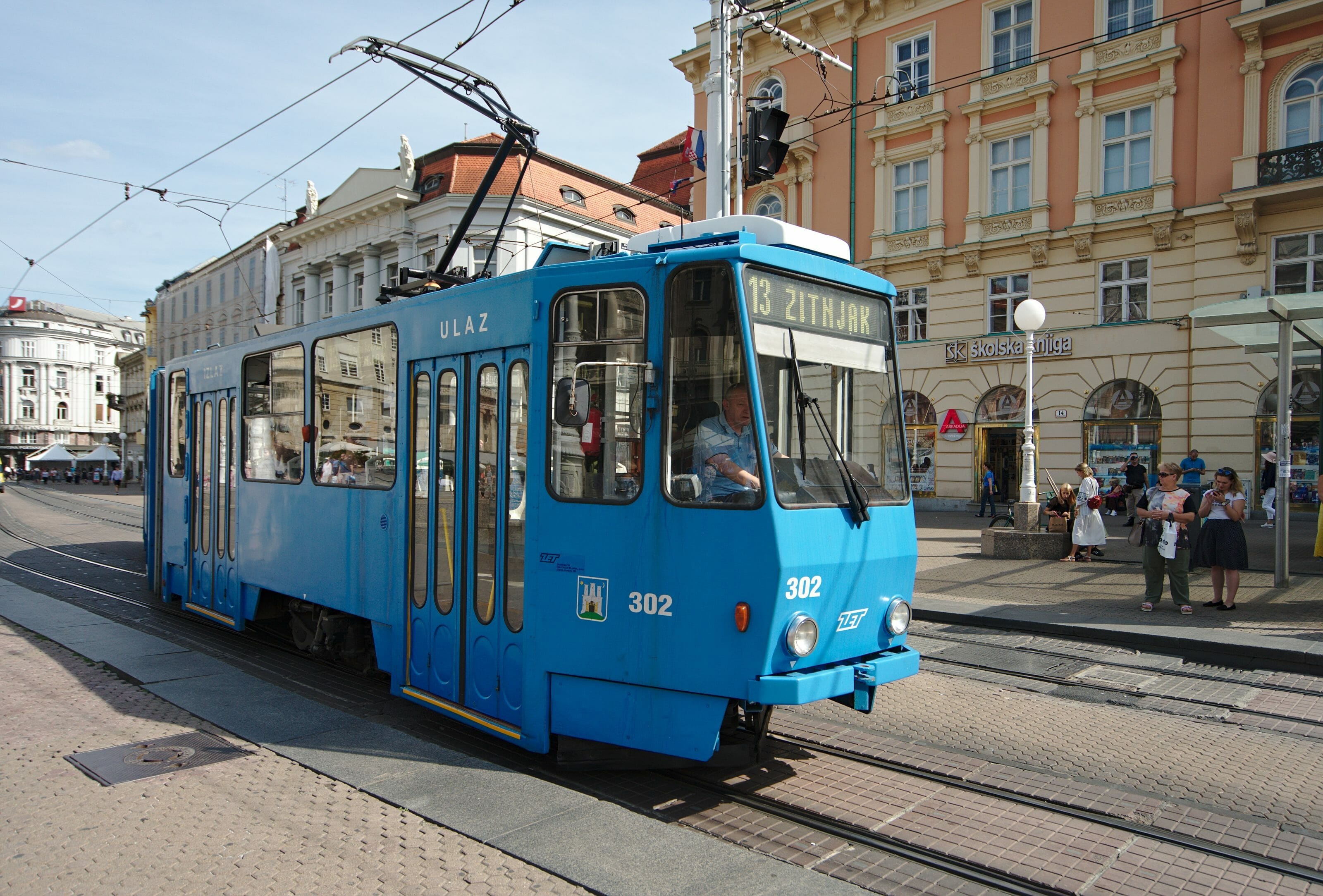 tram zagreb