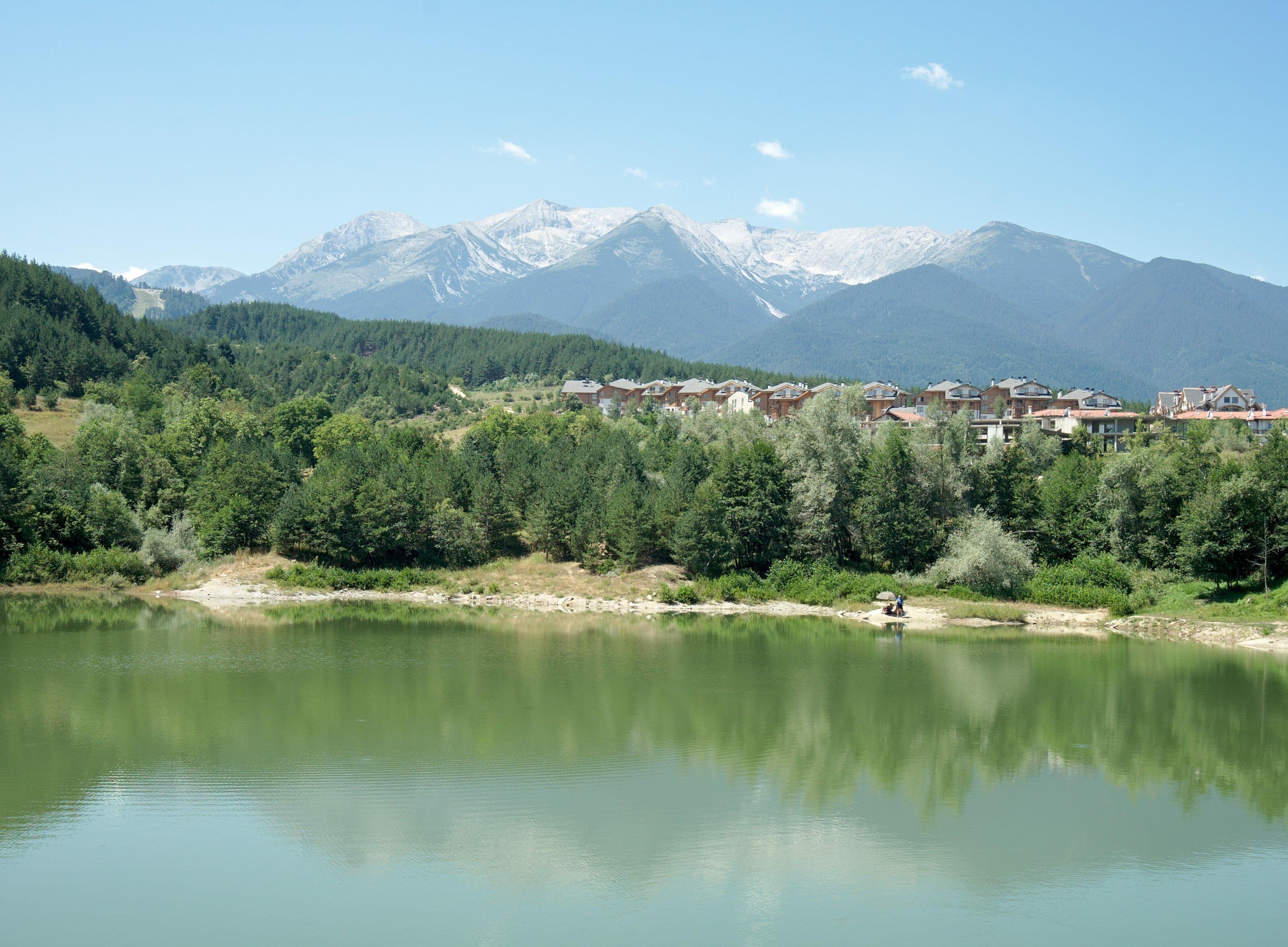 Bansko and pirin mountains