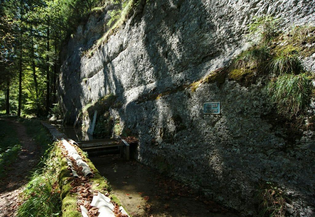 petit canal vers vallorbe